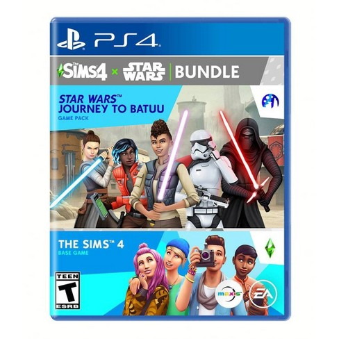 The Sims 4 + Star Wars: Journey to Batuu Bundle - PlayStation 4 - image 1 of 4
