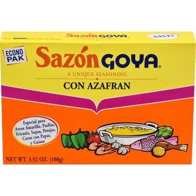 Sazon Goya Unique Seasoning with Azafran - 3.52oz