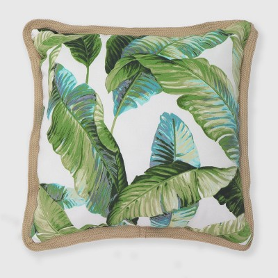 Oversize Square Vacation Tropical Outdoor Pillow - Threshold™