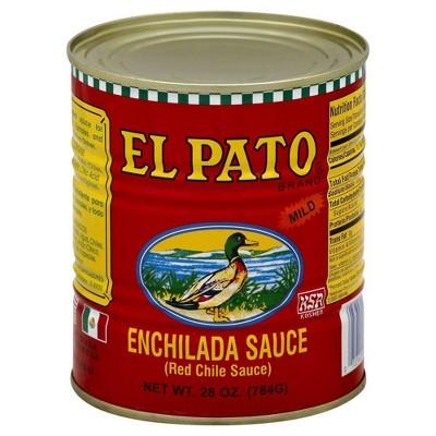 El Pato Enchilada Red Sauce - 28oz