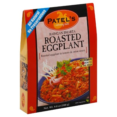 Patel Roasted Eggplant - 9.9oz