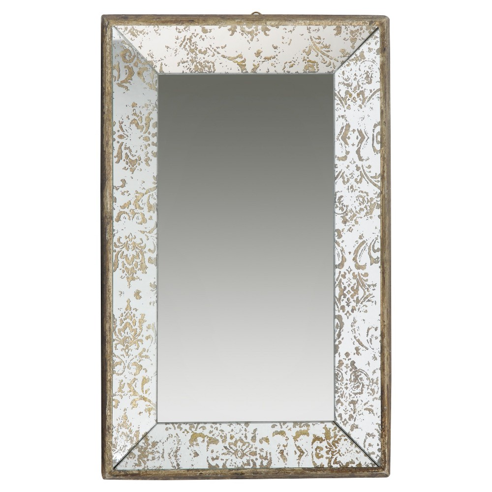 Image of A&b Home Decorative Wall Mirror, Multi-Colored