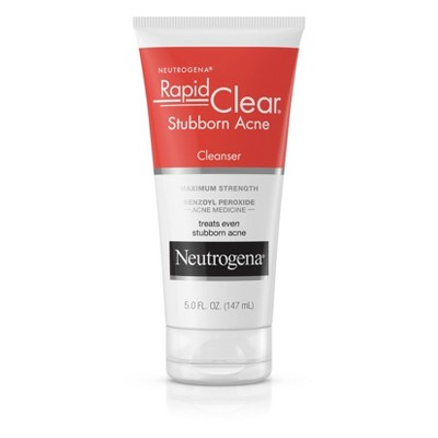 Facial Cleanser: Neutrogena Rapid Clear Stubborn Acne Cleanser