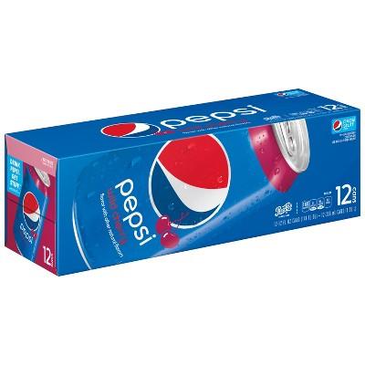 Pepsi Wild Cherry Cola - 12pk/12 fl oz Cans