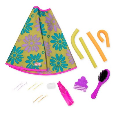 """Our Generation Hair Play Style Accessory Set for 18"""" Dolls - Let's Hear it for the Curl"""