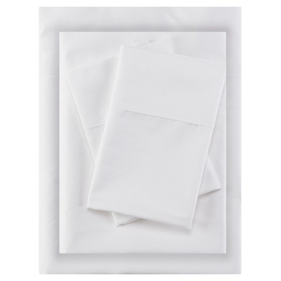 Aloe Vera Cotton Sheet Sets (Queen)White 400 Thread Count