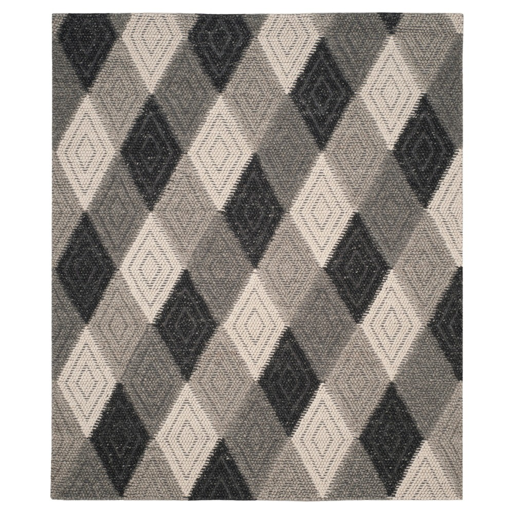 Anthracite (Grey) Solid Tufted Area Rug - (8'X10') - Safavieh