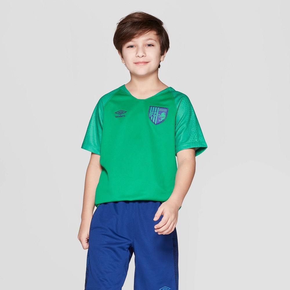 Image of Umbro Boys' Soccer Jersey - Green XL, Boy's