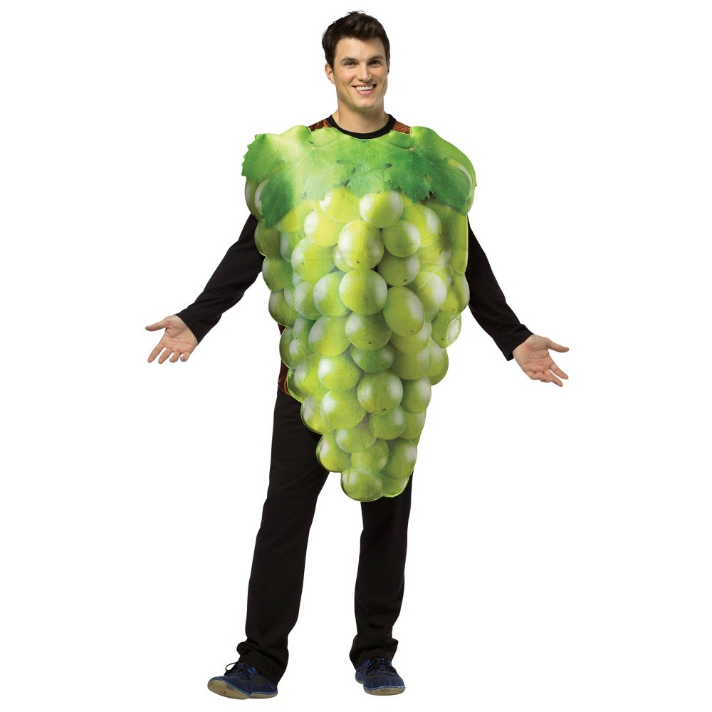 Image of Halloween Adult Bunch of Grapes Halloween Costume One Size, Adult Unisex, MultiColored