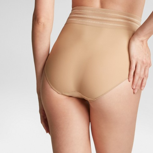 e4ed1c1aa4 Assets® By Spanx® Women s Micro Shaping Brief - Barely XL   Target