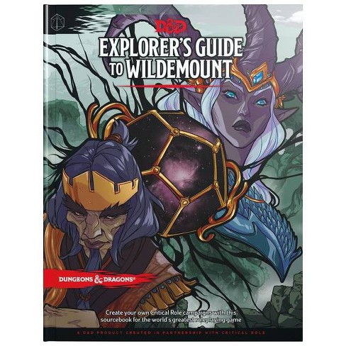 Explorer's Guide to Wildemount (D&d Campaign Setting and Adventure Book) (Dungeons & Dragons) (Hardcover) - image 1 of 1