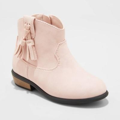 Toddler Girls' Theodora Western Boots - Cat & Jack™