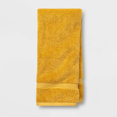 Hand Towel Perfectly Fall Yellow - Opalhouse™