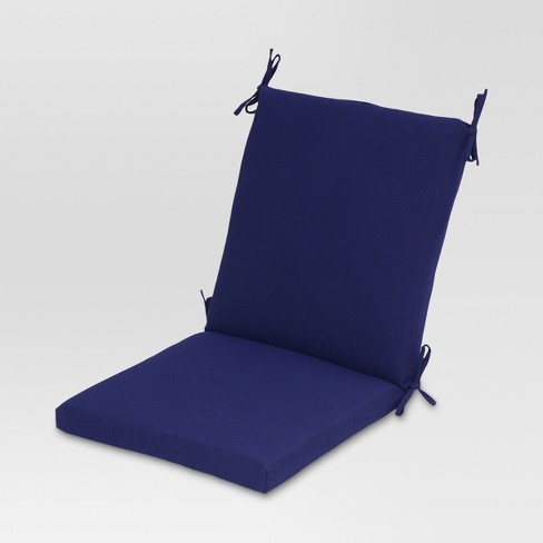 Solid Outdoor Chair Cushion - Threshold™ - image 1 of 2