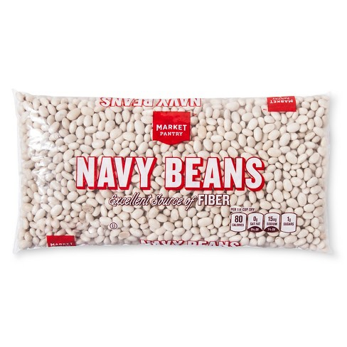 Navy Beans - 1lb Market Pantry™ - image 1 of 1