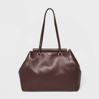 Soft Tote Handbag - A New Day™ Brown