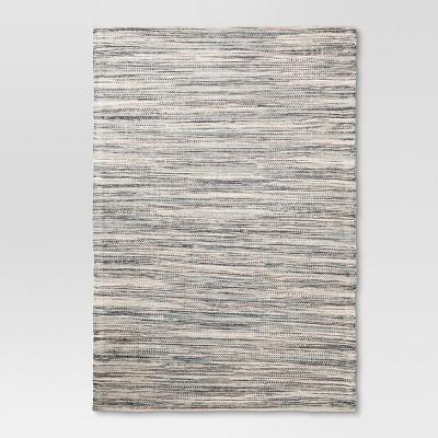 7'x10' Woven Area Rug Indigo - Threshold™