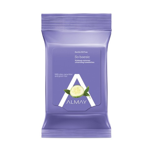 Almay Oil-Free Makeup Remover Cleansing Towelettes - 25ct - image 1 of 3