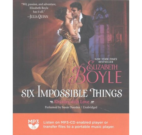 Six Impossible Things (MP3-CD) (Elizabeth Boyle) - image 1 of 1