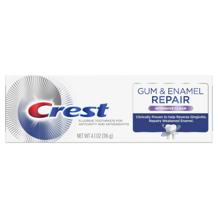Crest Gum & Enamel Repair Toothpaste - Intensive Clean - 4.1oz : Target