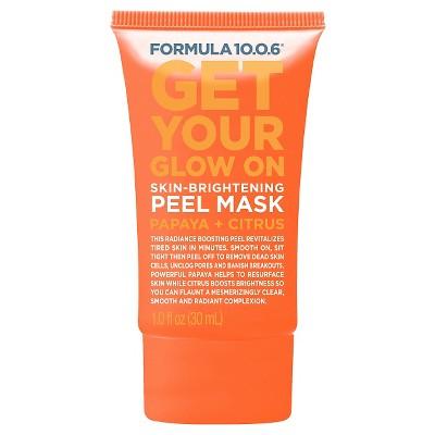 Formula 10.0.6 Skin Brightening Peel Mask - Papaya Citrus - 1oz