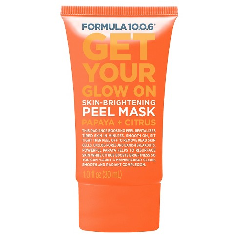 Formula 10.0.6 Skin Brightening Peel Mask - Papaya Citrus - 1oz - image 1 of 1