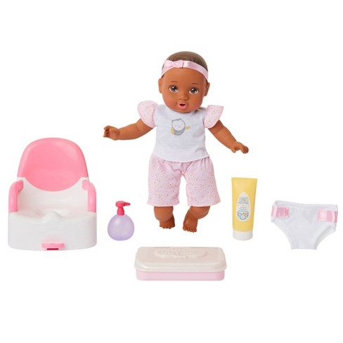 Perfectly Cute Potty Training Set Girl Doll - Brunette Brown Eyes - image 1 of 4