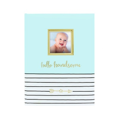 Pearhead Hello Handsome Baby Memory Book
