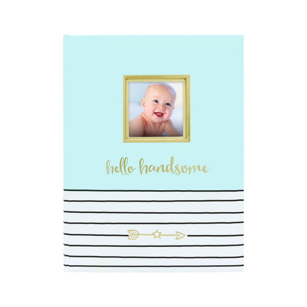 Pearhead Hello Handsome Baby Memory Book Blue