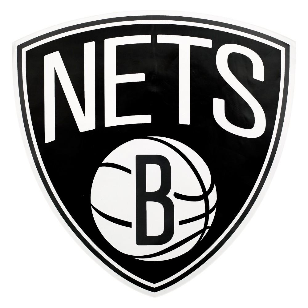 NBA Brooklyn Nets Large Outdoor Logo Decal