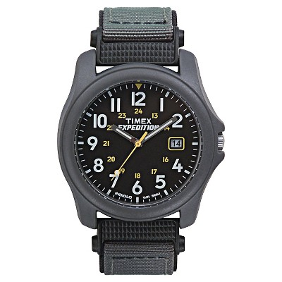 Men's Timex Expedition Camper Watch with Nylon Strap and Resin Case - Gray T425719J
