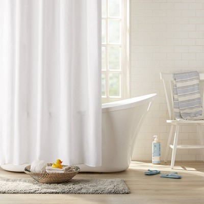 Fabric Shower Curtain White - Clorox
