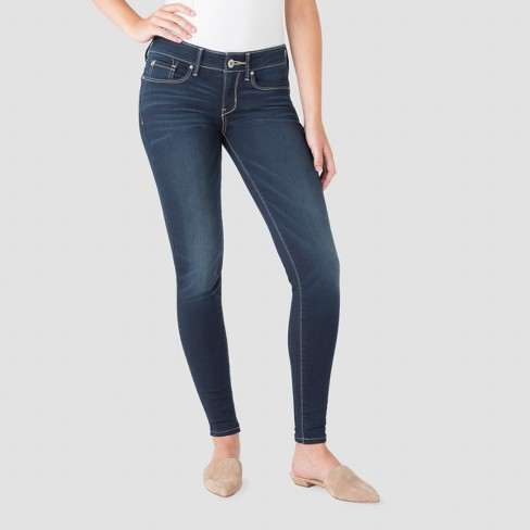 5566baf2305c2 DENIZEN® From Levi's® Women's Low-Rise Jeggings - (Juniors') Dark Wash 3 :  Target