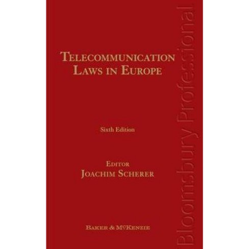 Telecommunication Laws in Europe - 6 Edition (Hardcover) - image 1 of 1