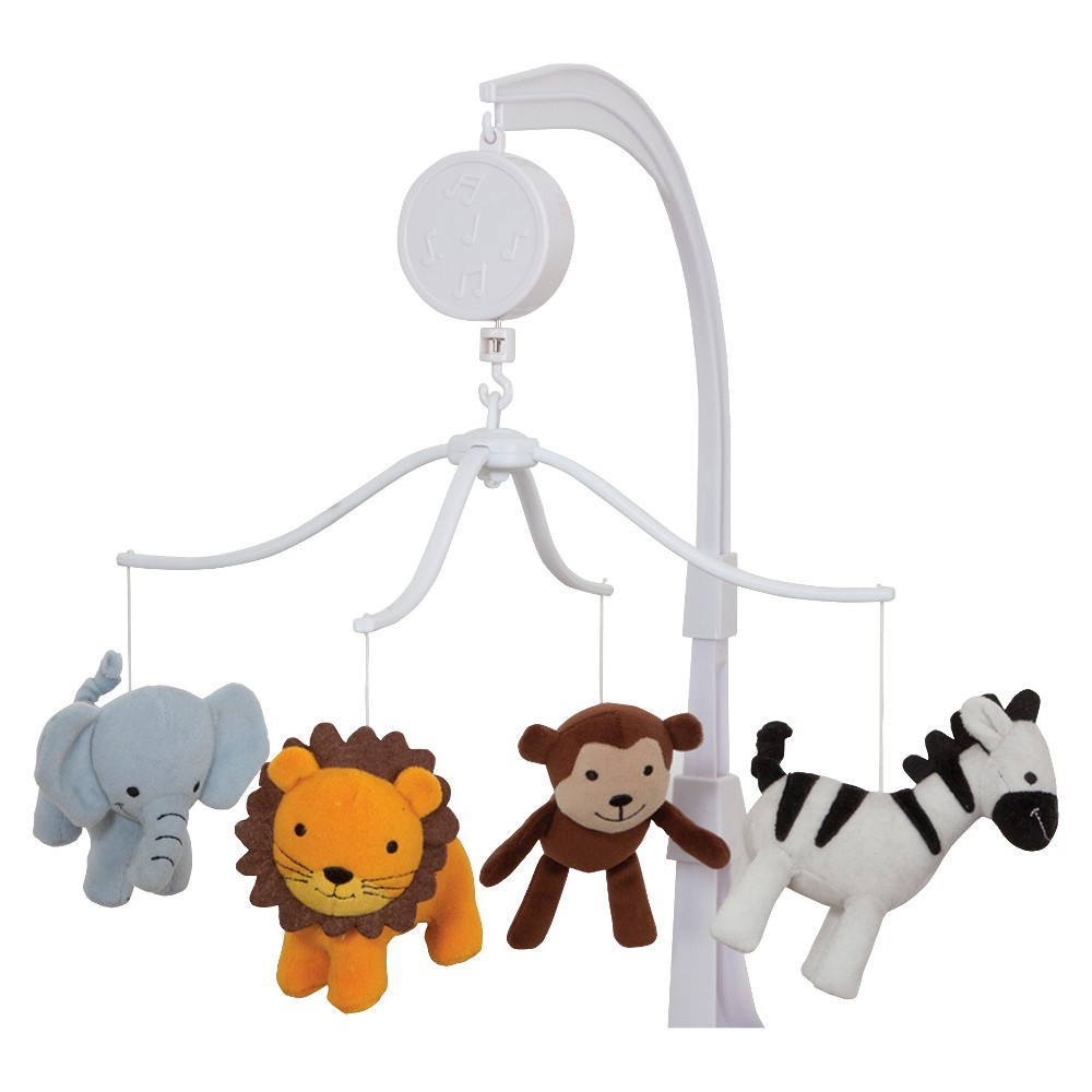 Image of Bedtime Originals Jungle Buddies Musical Mobile