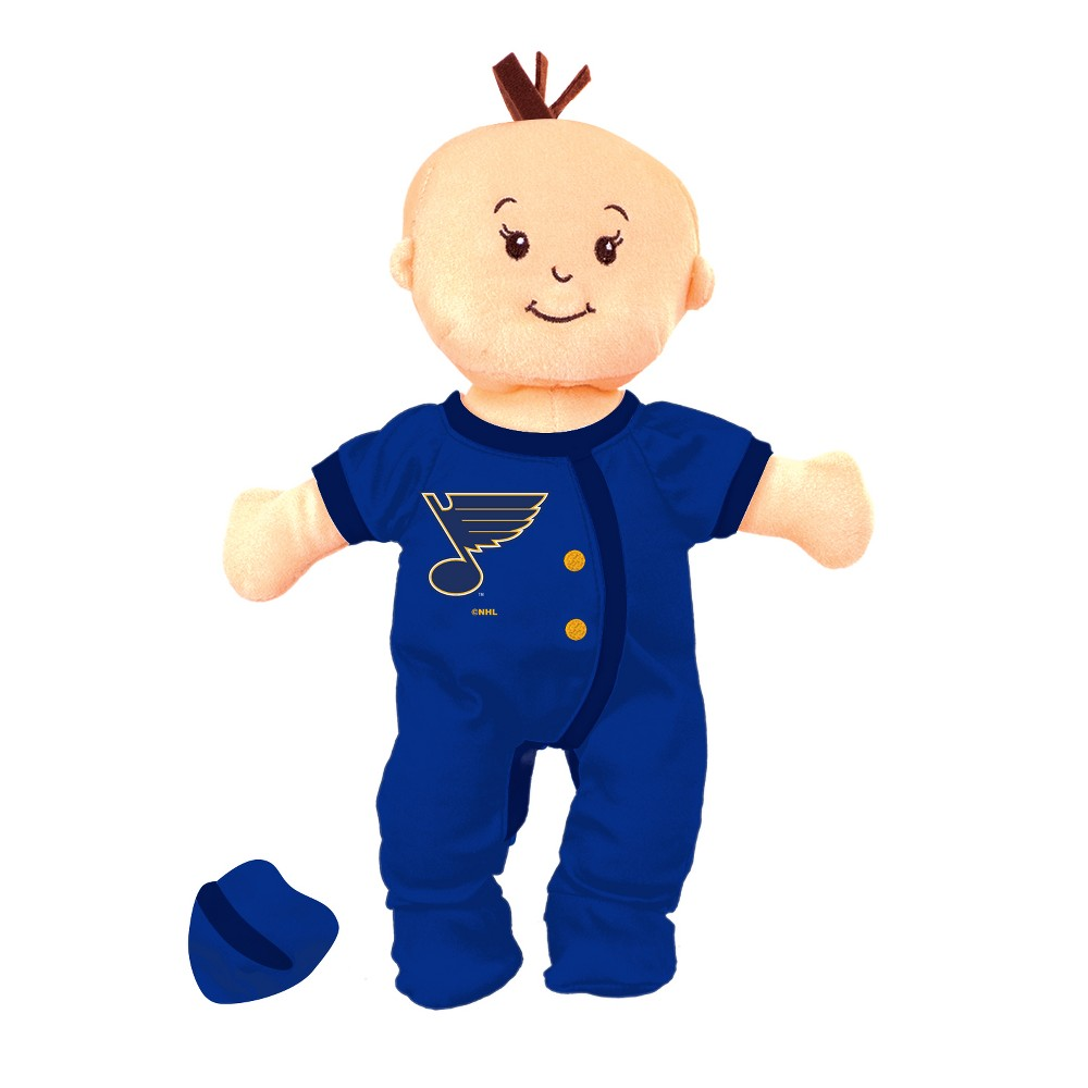 NHL St. Louis Blues Wee Baby Stella Doll
