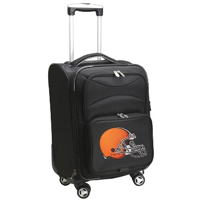 NFL Cleveland Browns Mojo Spinner Wheels Carry On Suitcase