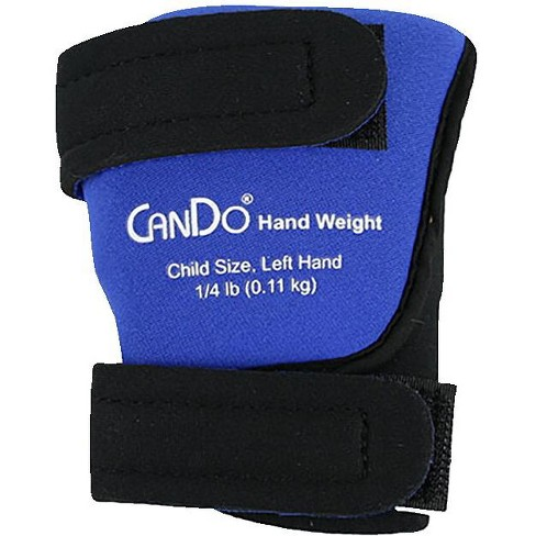 CanDo Palm Weights, Child Size Left Hand, 1/4 pound - image 1 of 2