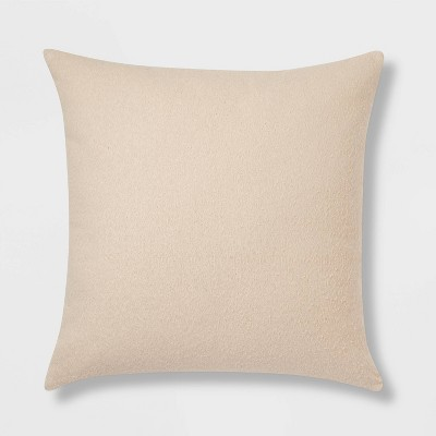 Euro Boucle Color Blocked Decorative Throw Pillow Khaki - Threshold™