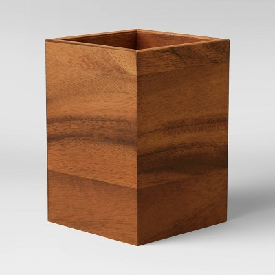 Acacia Wood Utensil Holder - Threshold™