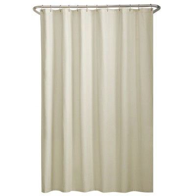 Water Repellant Fabric Shower Liner - Zenna Home