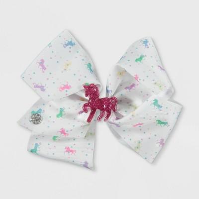 Girls' JoJo Siwa Unicorn Bow Hair Clip