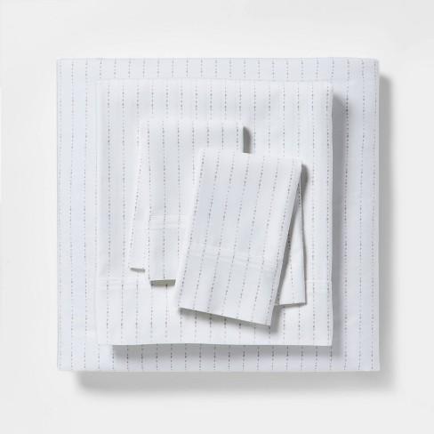 Organic Cotton Printed Sheet Set 300 Thread Count - Threshold™ - image 1 of 4