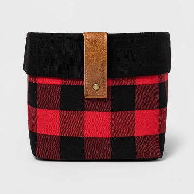 Buffalo Checkered Basket Red - Threshold™