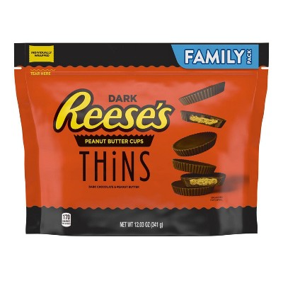 Reese's Thins Dark Family Size Bag - 12.03oz