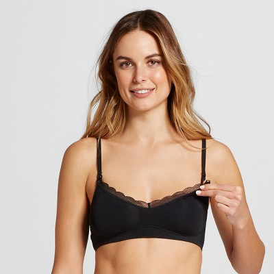 Women's Nursing Sleep Bralette - Gilligan & O'Malley™ Black L