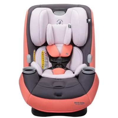 Maxi-Cosi Pria All-in-One Pure Cosi Convertible Car Seat - Coral Quartz