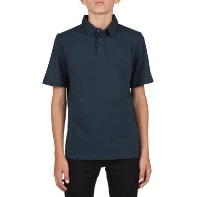 Volcom Boys Wowzer Short Sleeve Polo Shirt