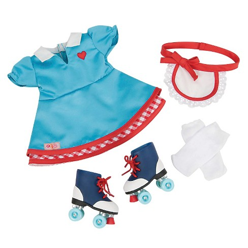 """Our Generation Retro Waitress Outfit for 18"""" Dolls - Soda Pop Sweetheart - image 1 of 3"""