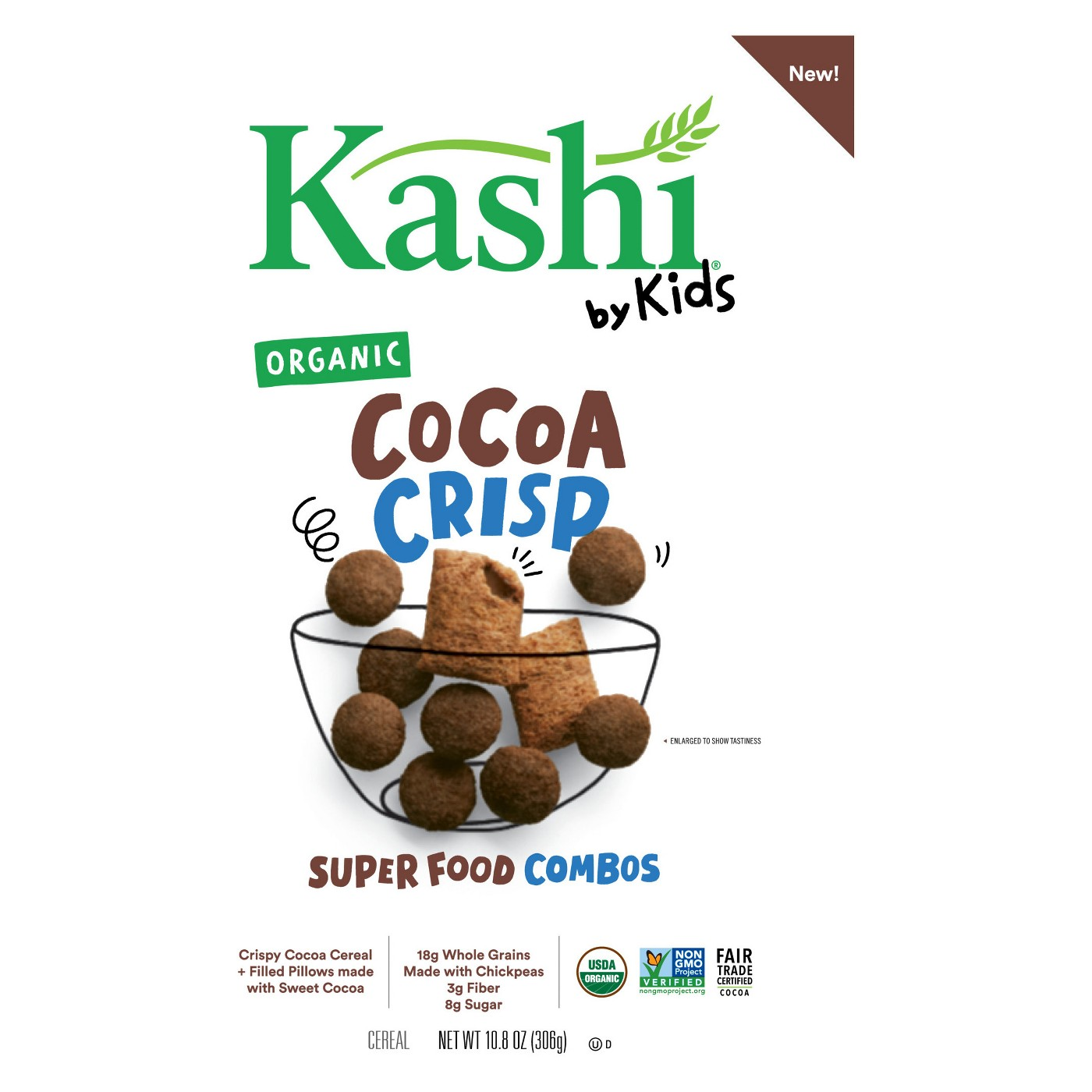 Kashi by Kids Organic Cocoa Crisp Cereal - 10.8oz - image 1 of 2